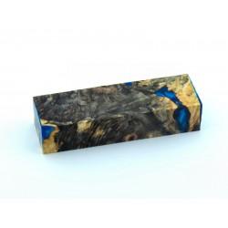 Buckeye Burls & Swirls Block - Sky Blue/Cobalt Blue (WS1-0074)