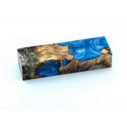 Buckeye Burls & Swirls Block - Sky Blue (WS1-0078)
