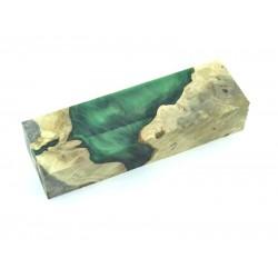 Buckeye Burls & Swirls Block - Green (WS1-B0084)
