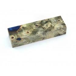 Buckeye Burls & Swirls Block - Cobalt (WS1-0036)