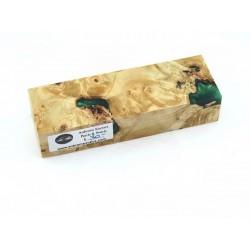 Buckeye Burls & Swirls Block - Green (WS1-0037)