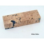 Maple Burls & Swirls Block - Cobalt/Sky (WS1-0039)