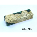 Buckeye Burls & Swirls Block - Green (WS1-B0109)
