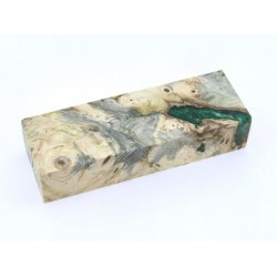 Buckeye Burls & Swirls Block - Green (WS1-B0112)