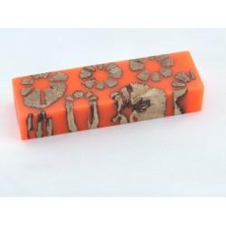 Cholla Cactus Block - Safety Orange (WS3-SO)
