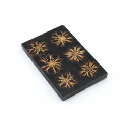 Magnolia Pod Scales - Black (WS18-SBL)