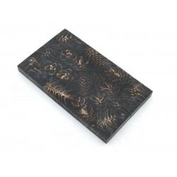 Mini Spruce Pine Cone - Black  (WS23-SMS003)