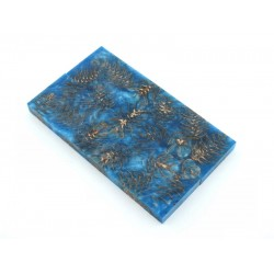 Mini Spruce Pine Cone - Sky Blue  (WS23-SMS005)