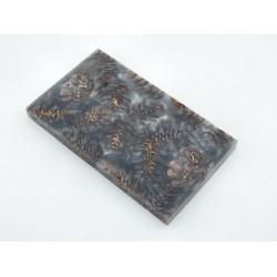 Mini Spruce Pine Cone - Gunmetal Silver  (WS23-SMS007)