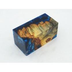 Burls & Swirls Blank - Sky Blue/Cobalt (WS20-0027)
