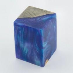 Burls & Swirls Blank - Sky Blue/Violet (WS20-T0031)