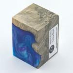 Burls & Swirls Blank - Sky Blue/Violet (WS20-T0033)