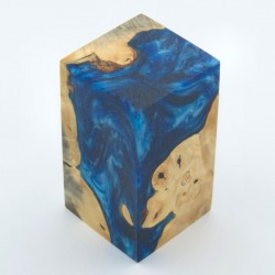 Burls & Swirls Blank - Sky Blue/Cobalt (WS20-T0036)