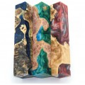 Burls & Swirls Pen Blanks - 3pk (WS1-P0046)
