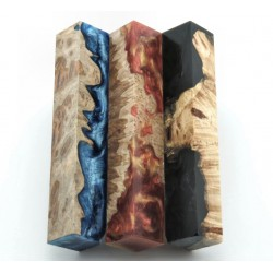 Burls & Swirls Pen Blanks - 3pk (WS1-P0065)