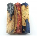 Burls & Swirls Pen Blanks - 3pk (WS1-P0068)
