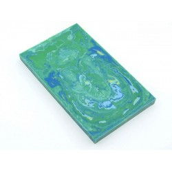 Solid Resin Scales - Green/Blue/White/Yellow (WS9-S009)