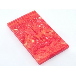 Solid Resin Scales - Orange/Red/White/Yellow (WS9-S012)