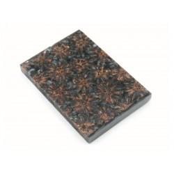 Sweet Gum Pod Scales -Lg- Gunmetal Silver (WS11-SSI)