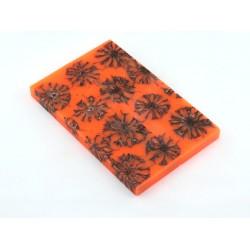 Sweet Gum Pod Scales -Lg- Safety Orange (WS11-SSO)