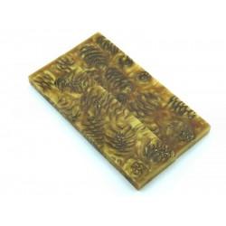Mini Spruce Pine Cone - Gold  (WS19-SMS002)