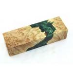 Maple Burls & Swirls Block - Green (WS1-0062)