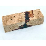 Maple Burls & Swirls Block - Copper/Gold (WS1-0063)