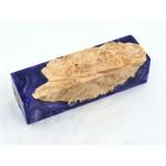 Maple Burls & Swirls Block - Violet/Lavender (WS1-0064)