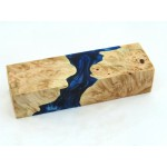 Maple Burls & Swirls Block - Cobalt/Sky (WS1-0065)