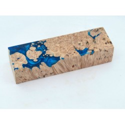 Maple Burls & Swirls Block - Cobalt/Sky (WS1-0039)