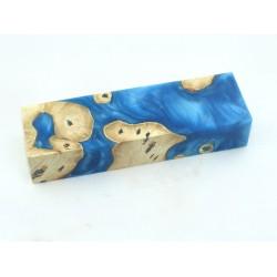 Buckeye Burls & Swirls Block - Sky Blue (WS1-0046)
