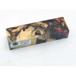 Buckeye Burls & Swirls Block - Copper/Gold  (WS1-0055)