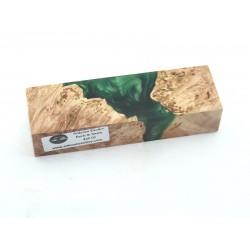 Maple Burls & Swirls Block - Green (WS1-0056)