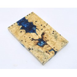 Buckeye Burls & Swirls Block - Sky Blue/Cobalt Blue  (WS1-S0001)