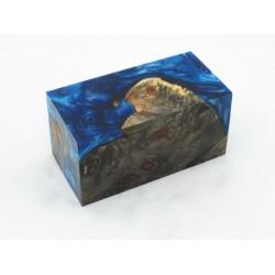 Burls & Swirls Blank - Sky Blue/Cobalt (WS20-0028)