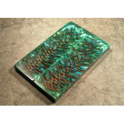 Norway Spruce Pine Cone Scales - Lg - Green/Sky Blue (WS5-SGRSB)