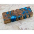 Pecky Cypress Block - Sky Blue (WS7-SB009)