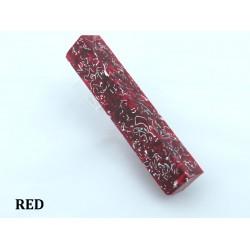 Shrapnel Pen Blank - Red (WS8-PRD)