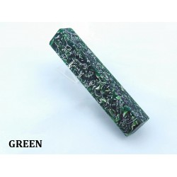Shrapnel Pen Blank - Green (WS8-PGR)