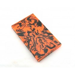 Solid Resin Scales - Safety Orange/Black (WS9-S005)