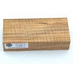 Curly White Ash Block (WS17-005)