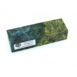 Buckeye Burl Block - Multi Dyed (WS17-0003)